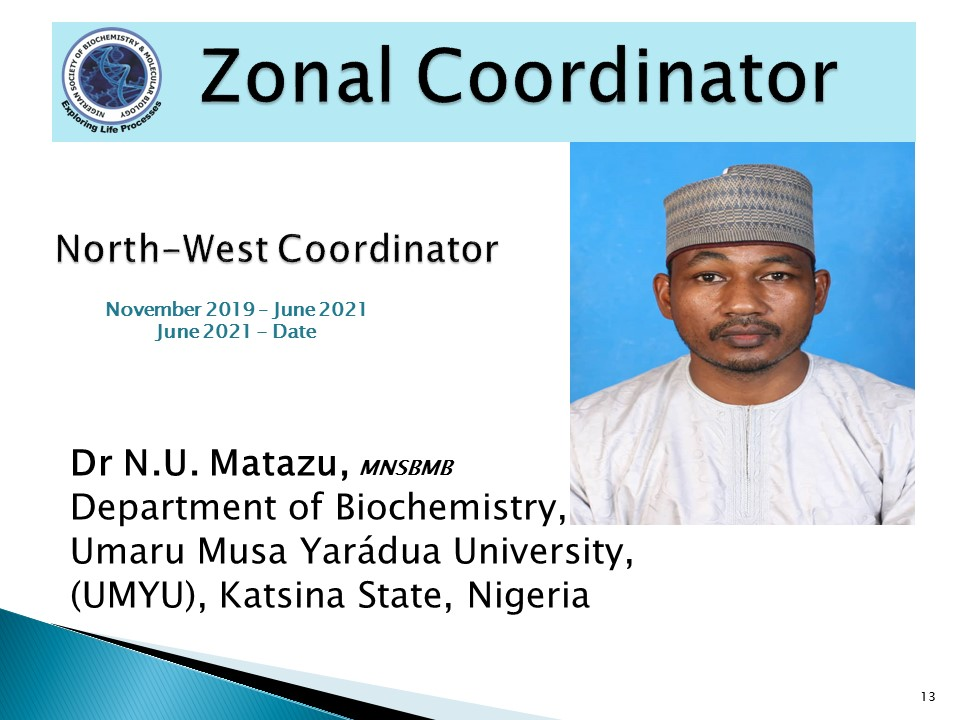 Dr N.U. Matazu