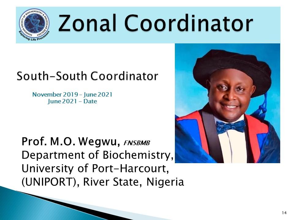 Prof. M.O. Wegwu