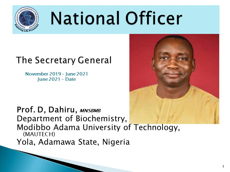Prof. D, Dahiru