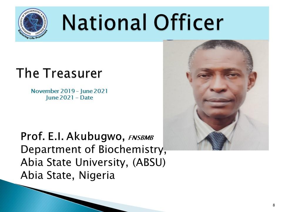 Prof. E.I. Akubugwo