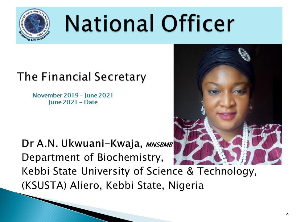 Dr A.N. Ukwuani-Kwaja